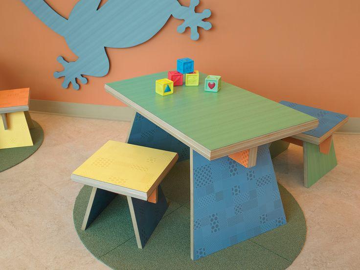 Ideas para el espacio de los niños.