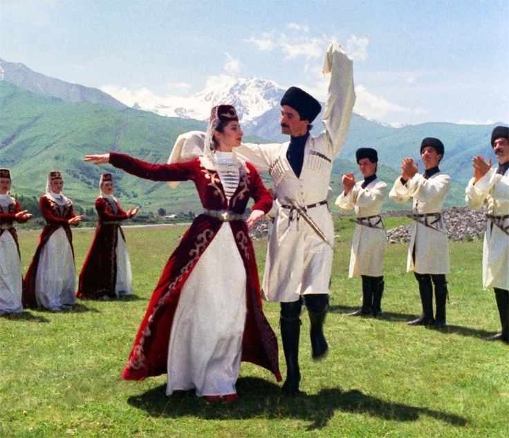 Georgian Folk Dance