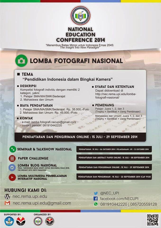 Info lomba fotografi tingkat nasional