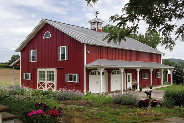 5435 best pole barn kits images on pinterest pole barns for Converting a pole barn into living space