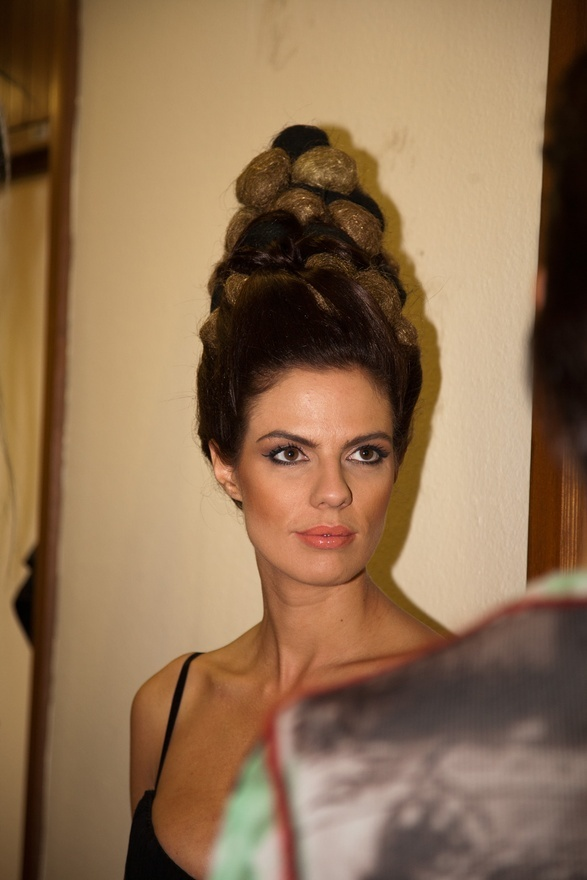 Sabina Remar, Miss Universe Slovenia 2004 for Subrina Professional Superheroes Collection presentation in Cankarjev dom, Ljubljana, 20aa
