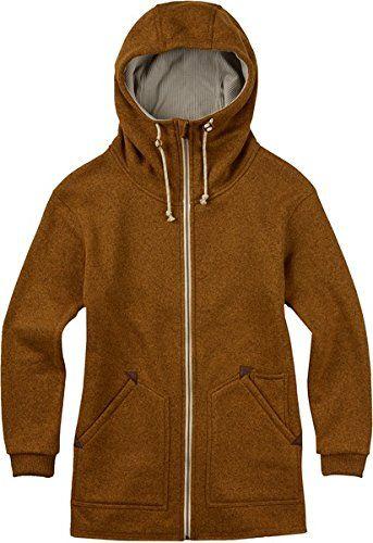 BURTON Women  39 s Minxy Full Zip Fleece Sweater  Monks Robe Heather  Medium Burton