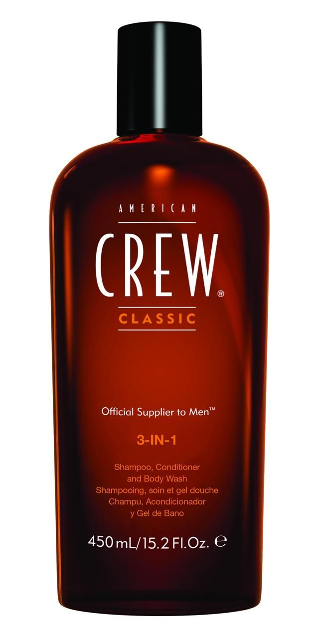 American Crew 3-in-1 Shampoo; Conditioner and body wash 450ml http://www.shopprice.com.au/body+conditioner