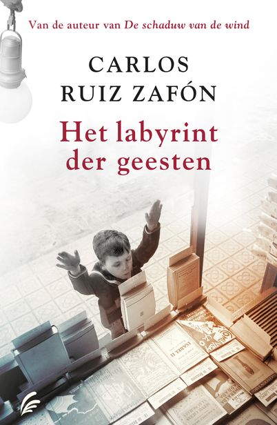 Het labyrint der geesten van Carlos Ruiz Zafón. De indrukwekkende finale van het vierluik Het Kerkhof der Vergeten Boeken. Verschijnt op 7 november 2017.