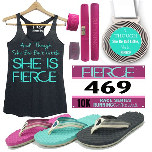 and though she be but little she is fierce 10k virtual race or run