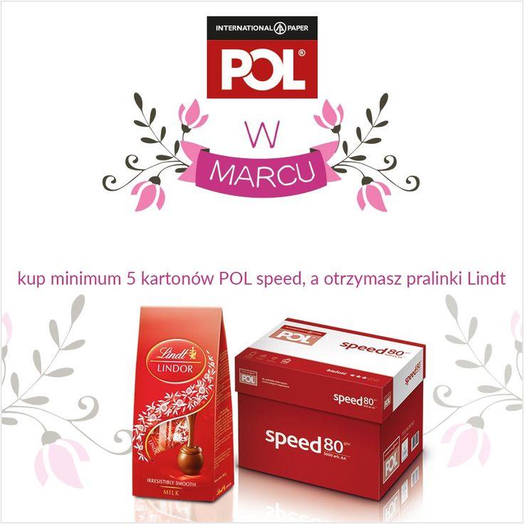 Kup min. 25 ryz papieru Polspeed / 5 kartonów / i odbierz słodki gratis. http://azbiuro.pl/pl/promocje/az_pol_03_2017 Promocja trwa do wyczerpania gratisów .