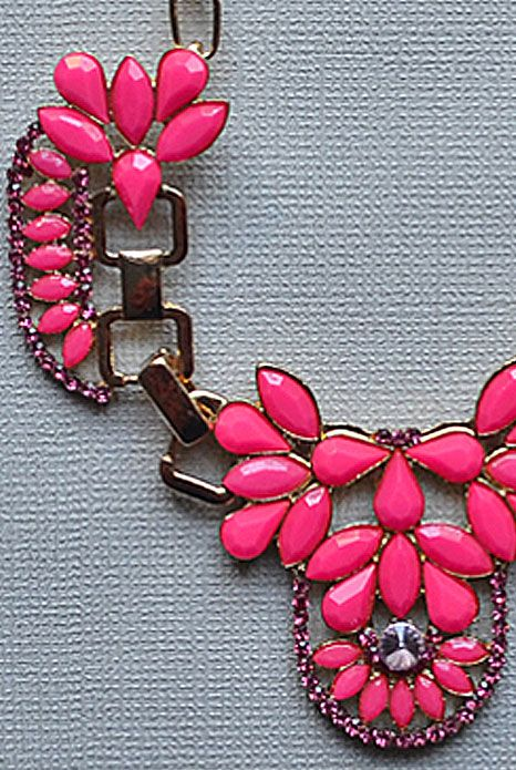 Bella Donna Neon Pink Necklace $29.00 available at www.aneva.com.au free shipping Australia wide Approximately 22cm in length with a 7cm Chain Extender.