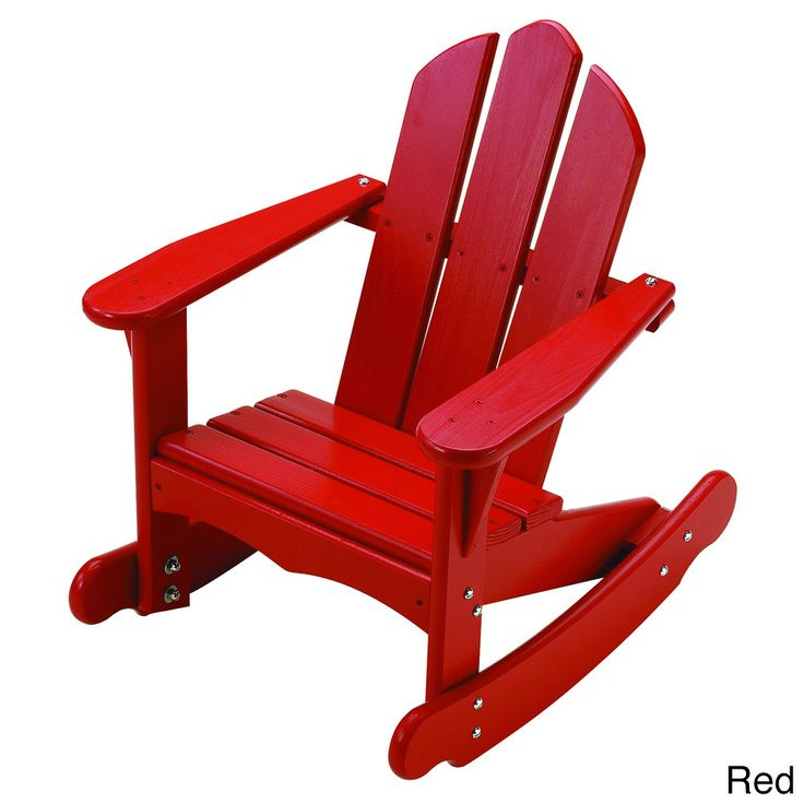 Child 39 s adirondack rocking chair plans woodworking for Child chair design