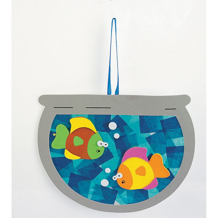 Tissue Paper Fishbowl Craft Kit - OrientalTrading.com Definitely have (even cuter versions of) these things! Boy...elementary school teachers must thank the gods for OTC. x3