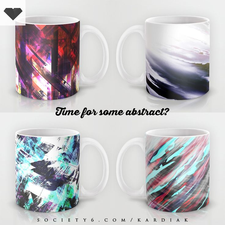 Time for some #abstract See all available Kardiak #mugs at Society6 here: https://society6.com/kardiak/mugs/?curator=happymelvin #homedecor