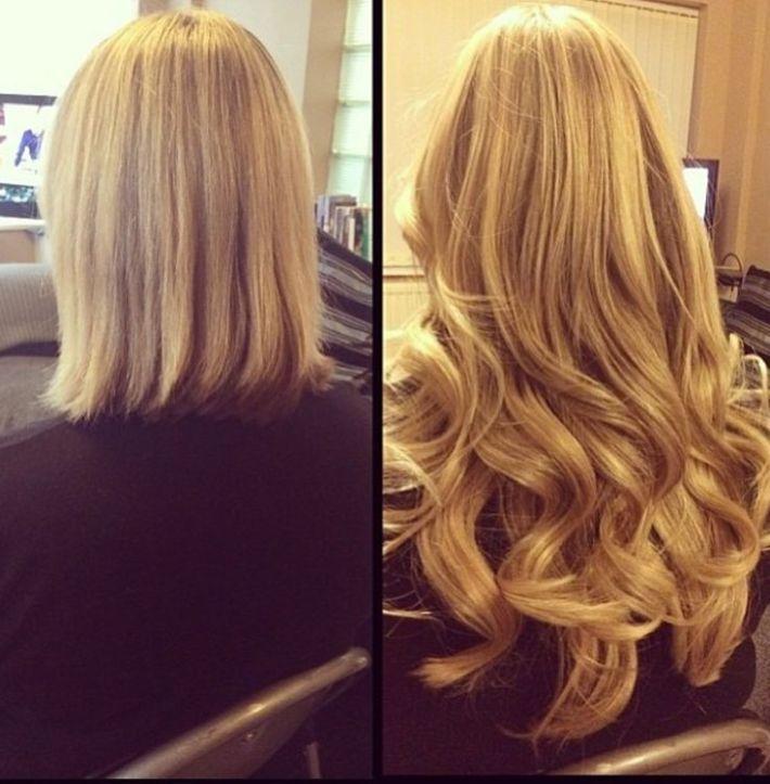 Avant-Apres : Hair extensions before & after extensions de cheveux avant après instagram.com/