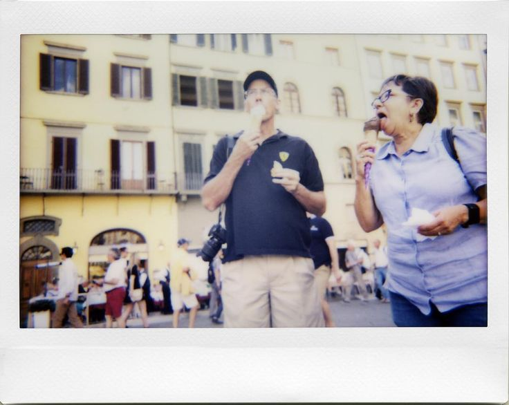 GE-LA-TO #streetphotography #gelato #instaxwide #lomoinstantwide #repostmyinstax #MyInstax #analog #candid #street #instant #analogue #passing #people #strangers #street #Fuji #Firenze #Florence #visitflorence #adayinflorence #tuscanybuzz #firenzegram #igerstoscana #igersfirenze #ig_firenze #igersitalia  Tourists you just don't get it what a proper gelato is. So sad.  Camera: Lomo'Instant Wide Film: Fuji Instax Wide Instax galore from my LomoHome album at http://bit.ly/2dpcf6C  @instaxitalia…