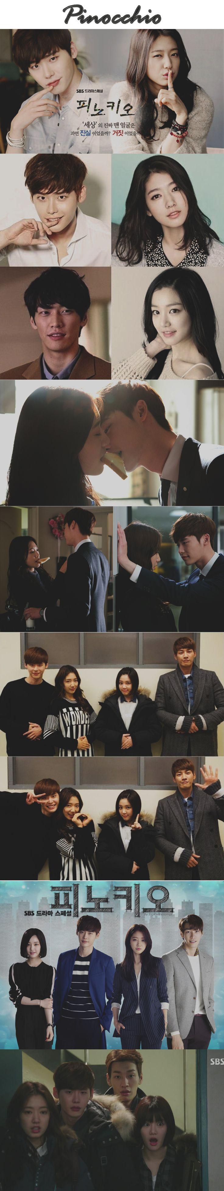 Pinocchio ( 피노키오 ) kdrama 2015 - 20 episodes - Lee Jong-Suk  / Park Shin-Hye / Kim Young-Kwang / Lee Yoo-Bi / Lee Pil-Mo by Luciane Miyuki Sakakima