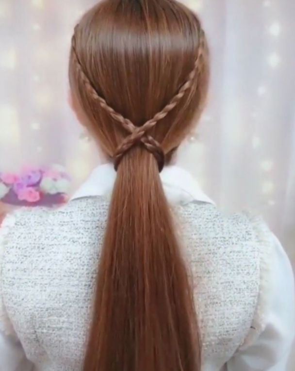 14 Hairstyles Easy Videos Volleyball In 2020 Hair Styles Hair Braid Videos Long Hair Styles