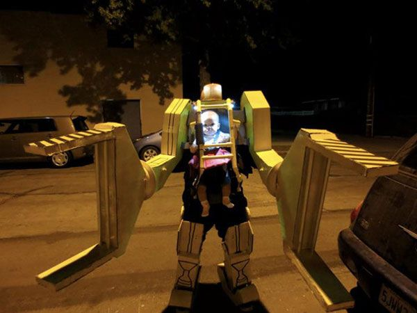 "Costume di Halloween da Power Loader di ""Aliens"""