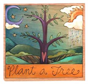 Sticks Plant a Tree Plaque by Sticks | Sticks Furniture, Home Decorative Accents