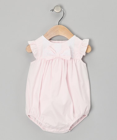 Going home outfit?? Pink Angel Sleeve Bodysuit - Infant by Les Petits Soleils on #zulily today!