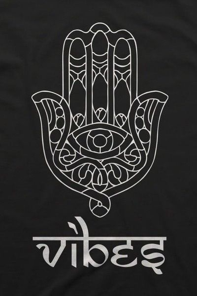 Hamsa hand . The hamsa is believed to provide defense against the evil eye. The symbol predates Christianity and Islam. In Islam, it is also known as the hand of Fatima, so named to commemorate Muhammad's daughter Fatima Zahra (c. 605 or 615[3] – 633). Levantine Christians call it the hand of Mary, for the Virgin Mary.