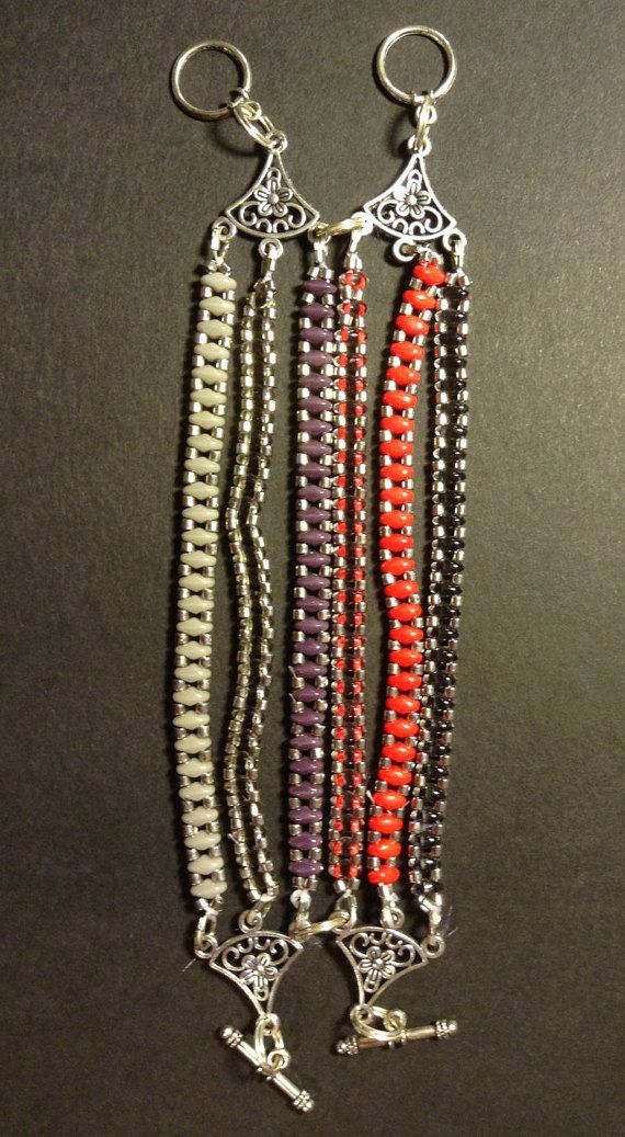 Superduo 6facher Armband von Perlenkreationen auf Etsy