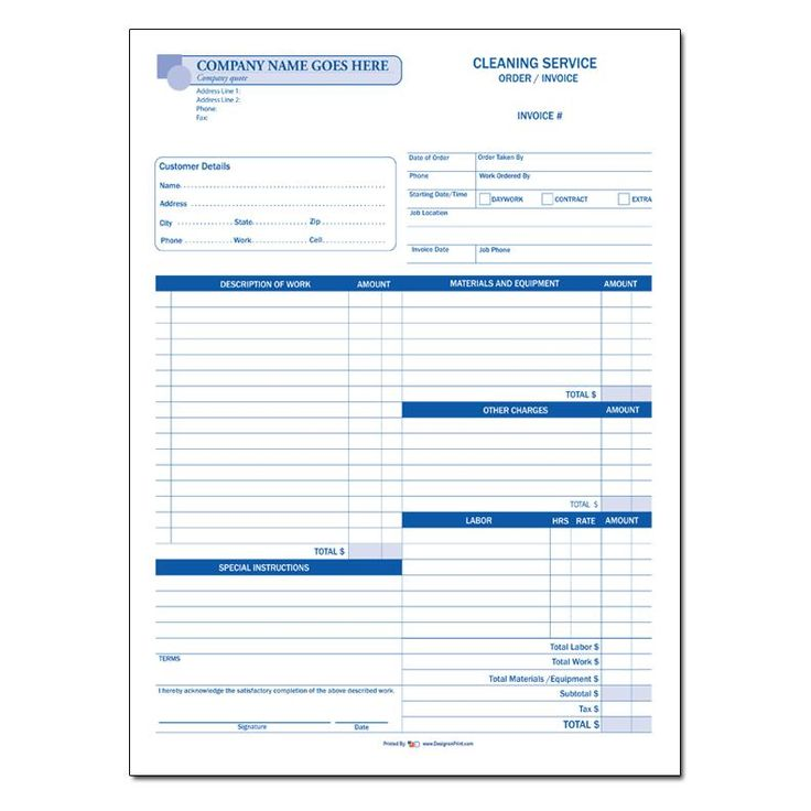 47 best Cleaning And Janitorial Service Resources images on - Carpet Cleaning Invoice Template