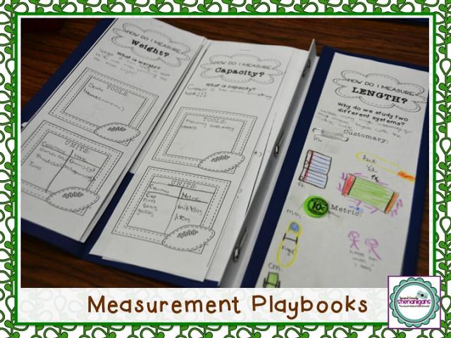 Measurement Playbooks: 2nd Grade