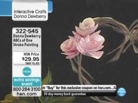 One Stroke Painting Ideas | Donna Dewberry One Stroke Paper Painting Kit with DVD - YouTube