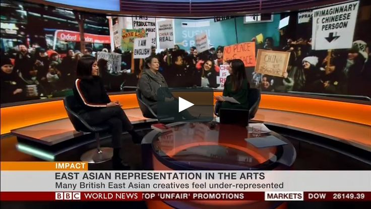 .For those that missed the short news item on BBC World News yesterday where Jingan Young and Lucy Sheen talk to Yalda Hakim about British East Asian representation in Uk Theatre and TV here it is. It followed hot on the tracks of the BBC news article by Helier Chang.  http://www.bbc.co.uk/news/entertainme...