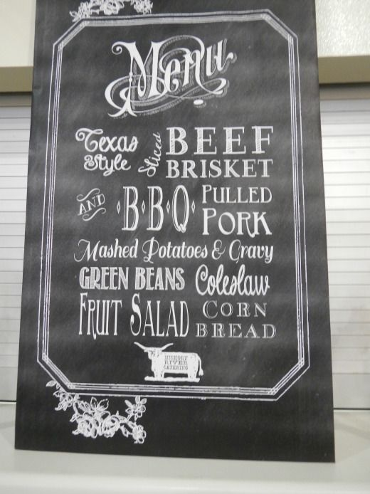 Chalkboard Menu and template  |  Mrs. Fancee. includes fonts