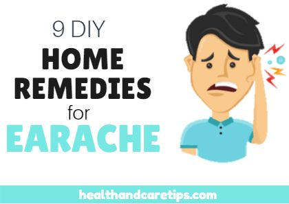 9 Effective DIY Home Remedies for Earache Treatment – TOP 9 Methods