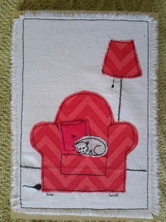 free_motion_raw_edge applique cards - Google Search More