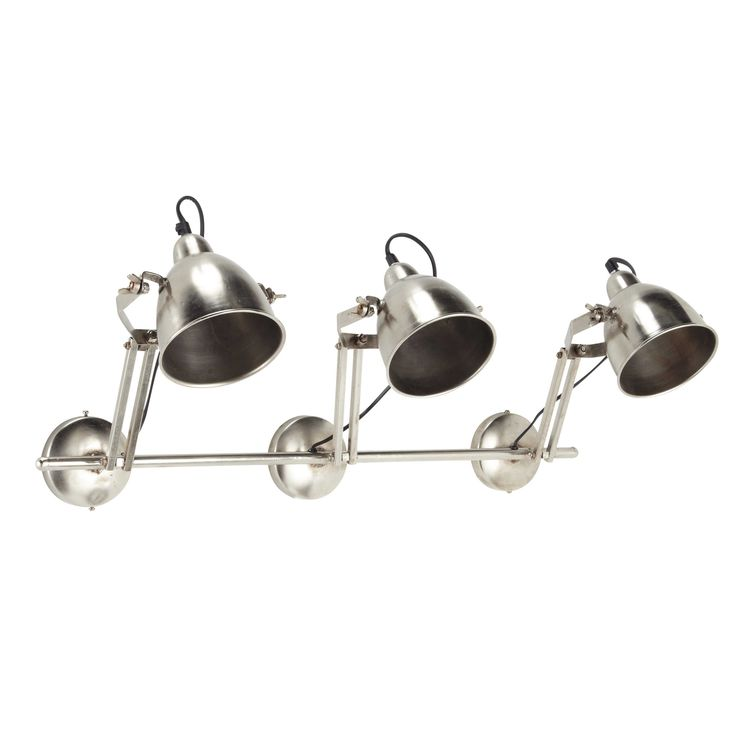 Regleta de 3 focos de metal TAYLOR