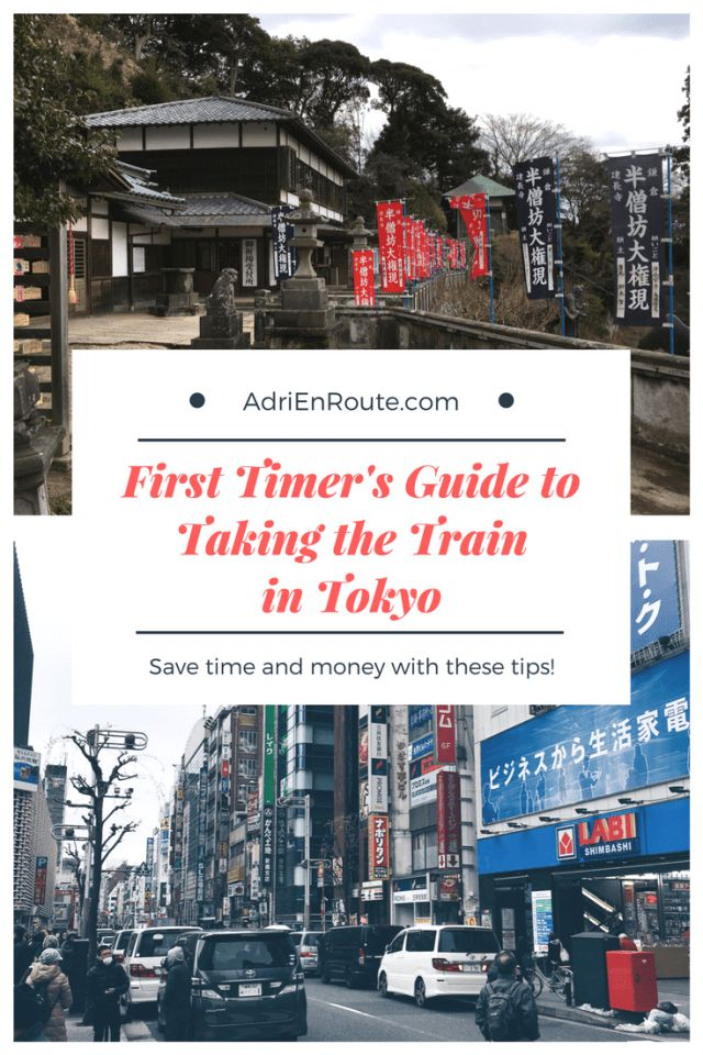 Helpful Guide to Taking the Tokyo Train System | Adri En Route