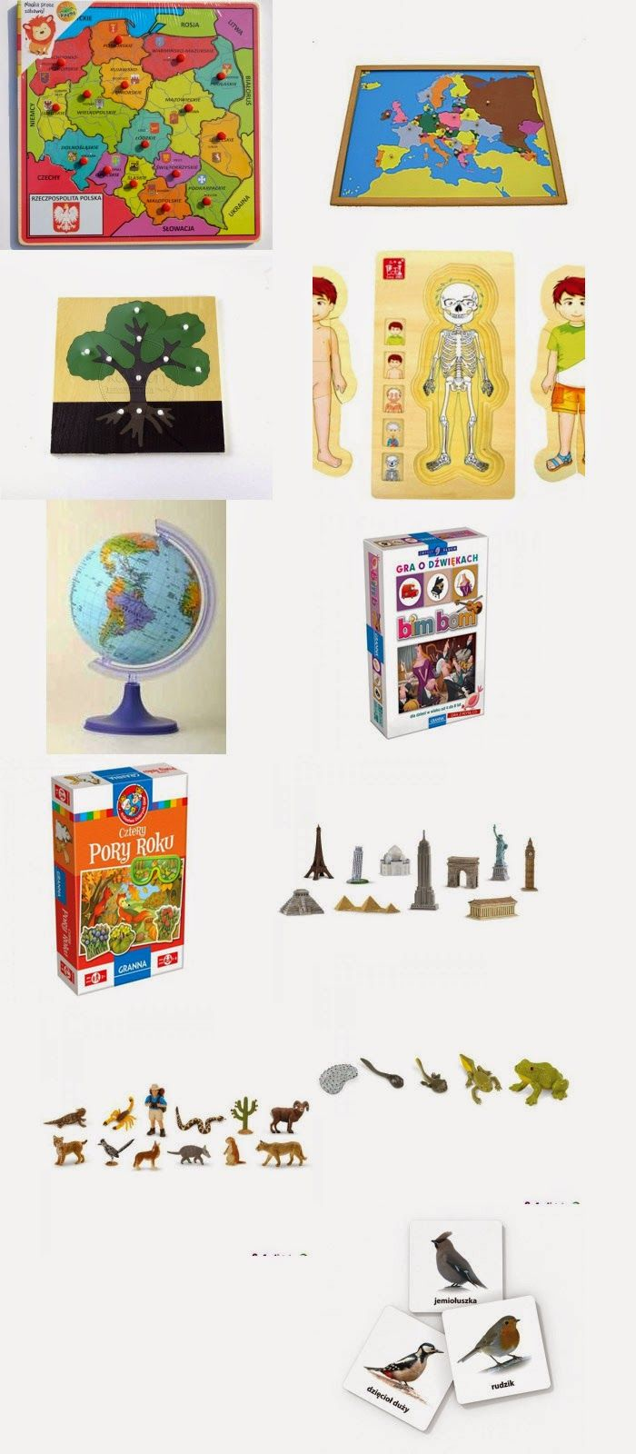 Zabawki i pomoce Montessori - Nasze Kluski