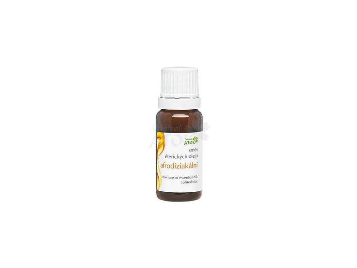 Zmes éterických olejov Afrodiziakálna - Original ATOK. Pôsobí mierne afrodiziakálne, navodzuje príjemnú atmosféru.