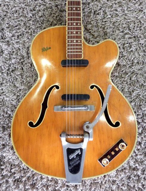 Hofner President Thin Electro Acoustic 1959 1960 Blonde Serial No 156 In Hove East Sussex Gumtree Acoustic Presidents Serial
