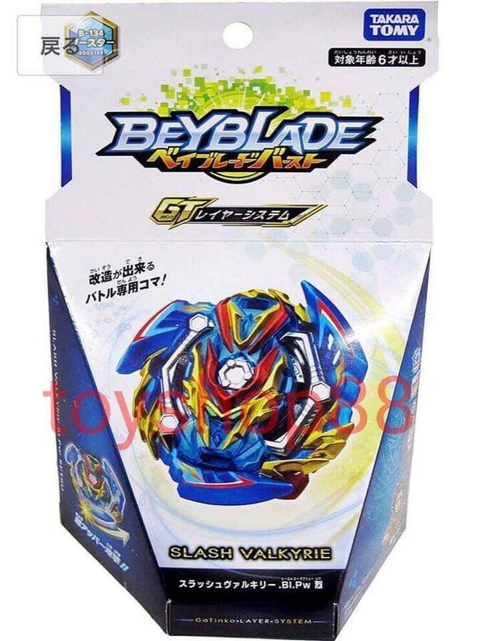 Takara Tomy Beyblade BURST GT B-134 Booster Slash Valkyrie.Bl.Pw Japan F//S NEW