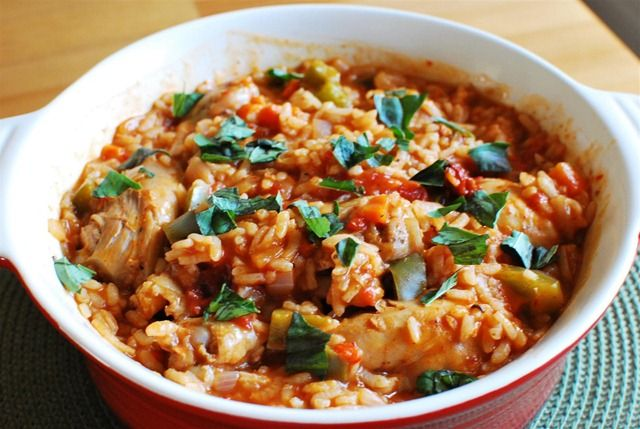 a Slimming world paella type dish. Am considering making it more paella like while keeping it as syn free as possible