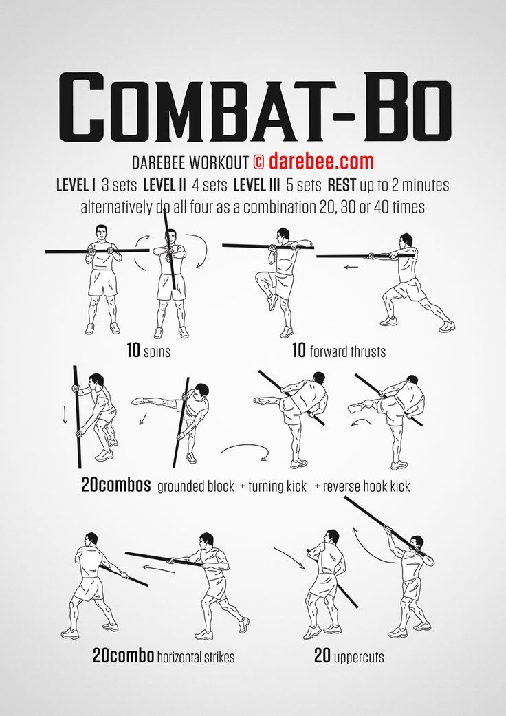 Combat Bo Workout