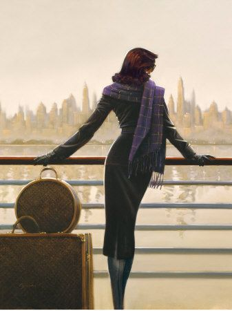 Brent Lynch: Port of Call. I love this one. It always makes me wonder what is the story of the woman.