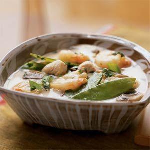 Thai Shrimp and Chicken Soup   MyRecipes.com