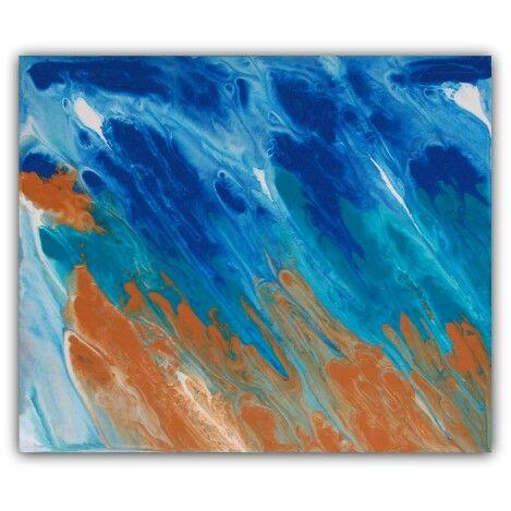 Rainfall. Abstract art.