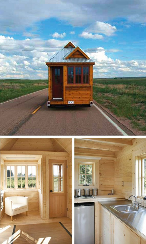 16 year old builds his own tiny house on wheels....read this-amazing story!