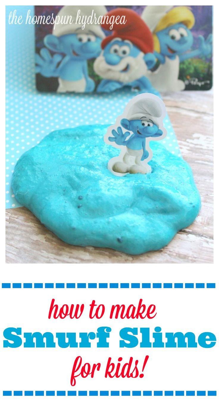 Smurfs Crafts for Kids