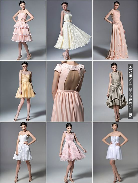 vintage bridesmaid dresses from For Her And For Him | CHECK OUT MORE IDEAS AT WEDDINGPINS.NET | #bridesmaids