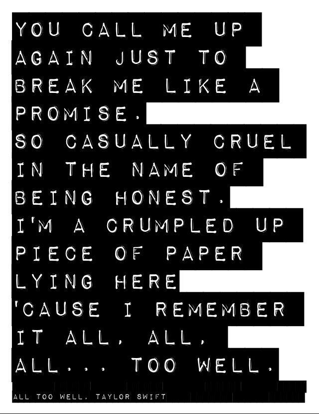 Lyric pretty girls lyrics : 175 best All Too Well images on Pinterest | Lyrics, Taylor swift ...