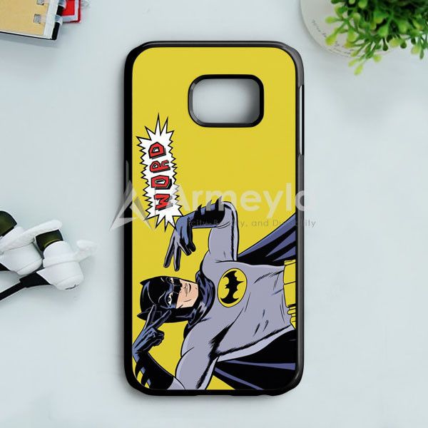 Batman Vs Superman Comic Samsung Galaxy S7 Case | armeyla.com