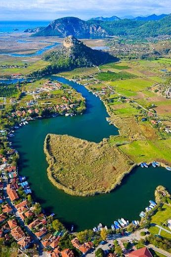 Dalyan Caunos, Marmaris, Turkey