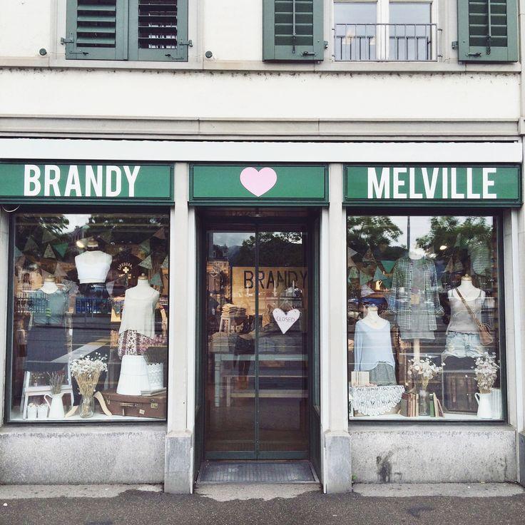 Brandy Melville Zurich, Switzerland Window Display By: Delaney & Caitlyn Poli
