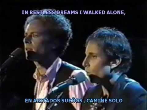 EL sonido del silencio (En Vivo) Subtitulado español - ingles (+lista de...
