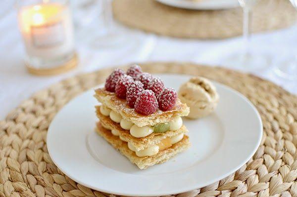 La chica de la casa de caramelo: Milhojas de crema y frutas